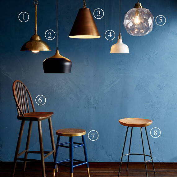 Lighting and stools