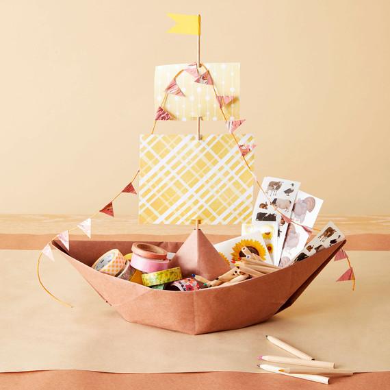 paper mayflower thanksgiving craft