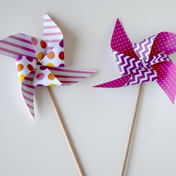 Paper Pinwheel 4