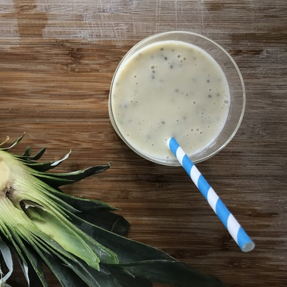 Pineapple-Coconut Smoothie from Healthy Appetite