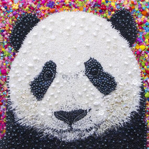 Beaded Panda