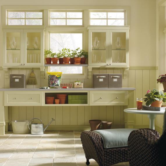 home depot kitchen garden room