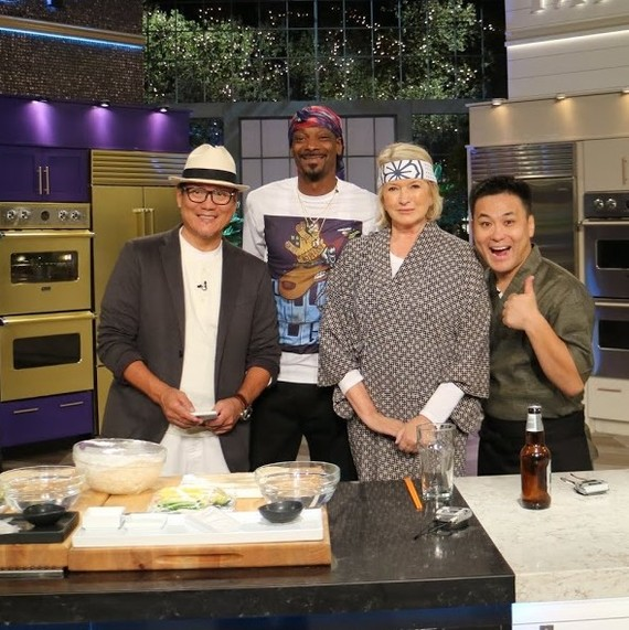 Snoop and Martha Cooking show