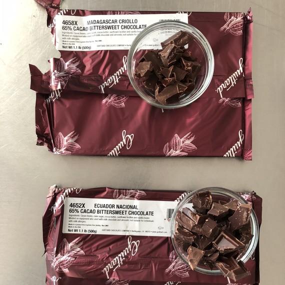 Guittard bittersweet chocolate