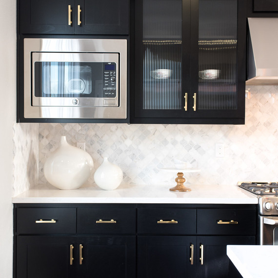 3 Gorgeous Ways to Soften Black Kitchen Cabinets Martha Stewart