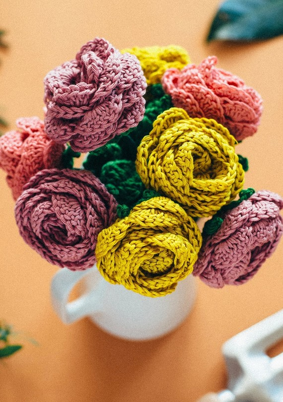 These Beautiful Crocheted Flowers are Made to Last a Lifetime