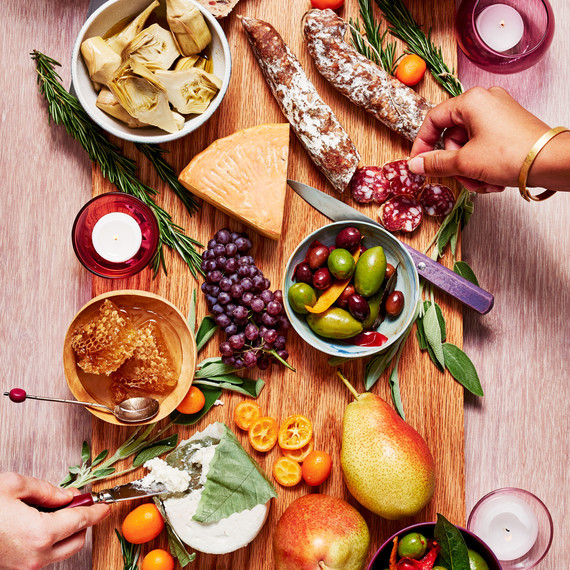 cheese and charcuterie appetizer board  sc 1 st  Martha Stewart & How to Assemble the Cheese Platter of Your Dreams | Martha Stewart