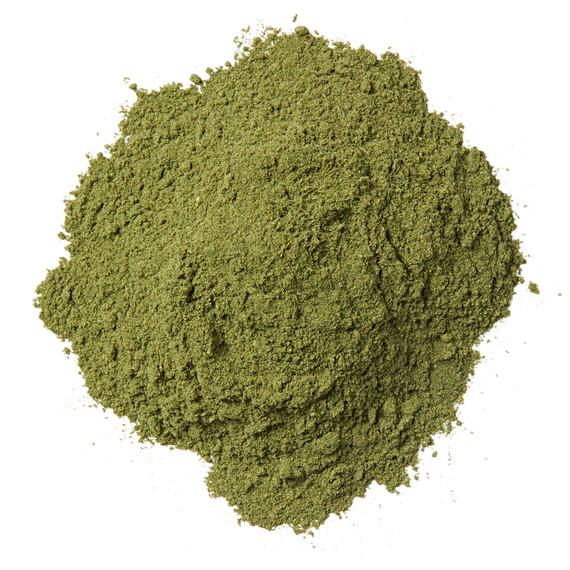 green protein powder