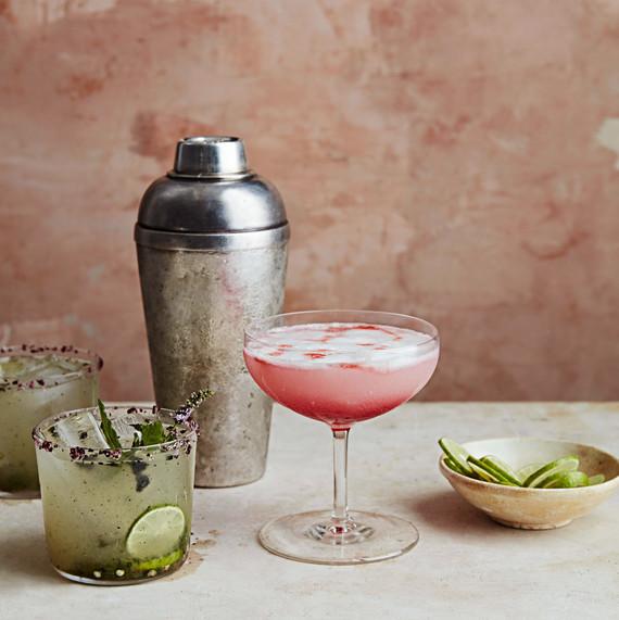 habanero-hibiscus sour drink