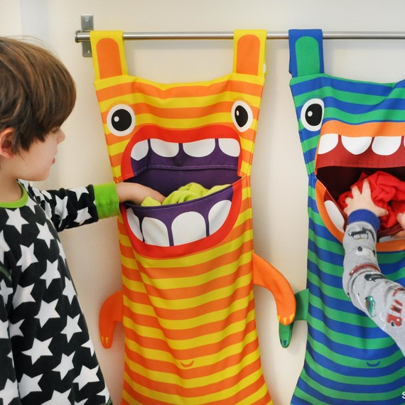 The Monster Ate My Laundry! An Awesome Hamper Every Kid's ...
