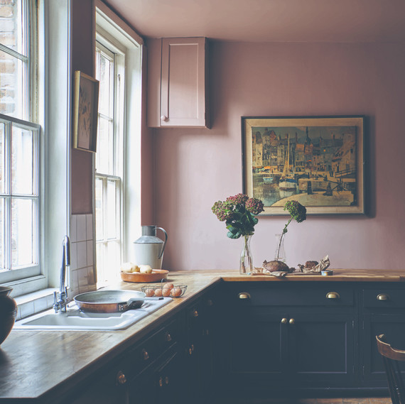 farrow and ball pink paint kitchen & These Are the Best Paint Colors of 2019 for Your Kitchen | Martha ...