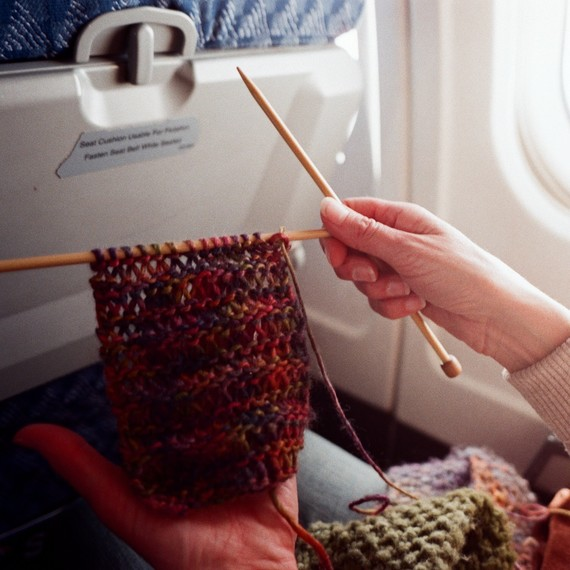 Can You Bring Knitting Needles (and Other Craft Tools) on an Airplane?