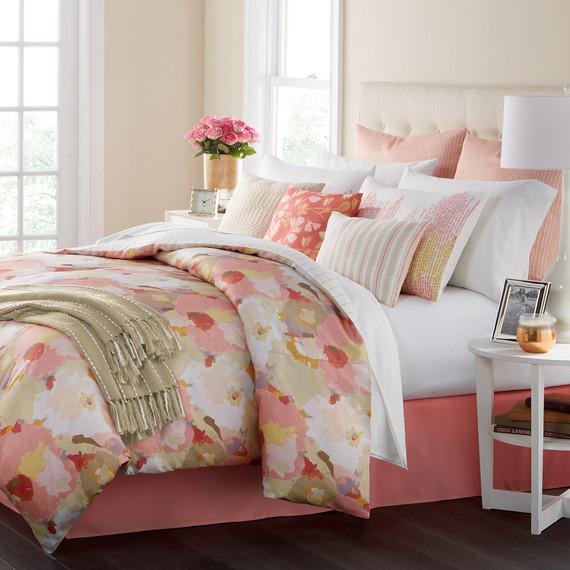 Bedding Painters Pallette Floral Pinks
