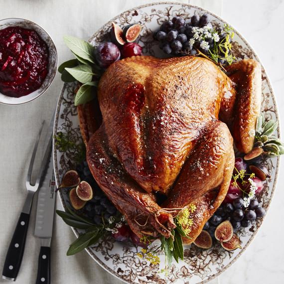 order ingredients turkey on table