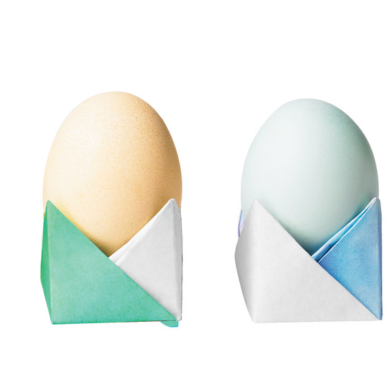 Watch How To Make An Origami Easter Egg Cup In A Few Easy