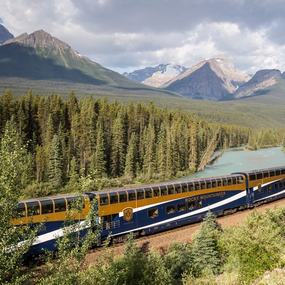 This Glass-Domed Train Through the Canadian Rockies Is One of the Most Scenic Rides in the World