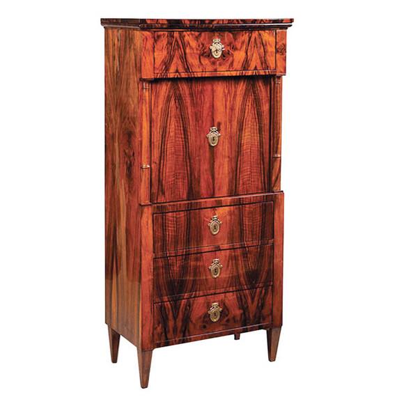 shellac wood dresser