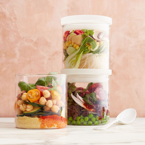 Soups in jars