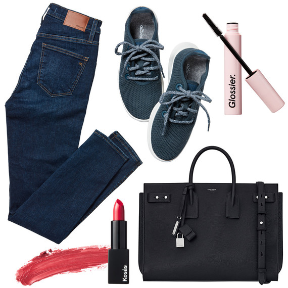 products jeans lipstick mascara shoes bag