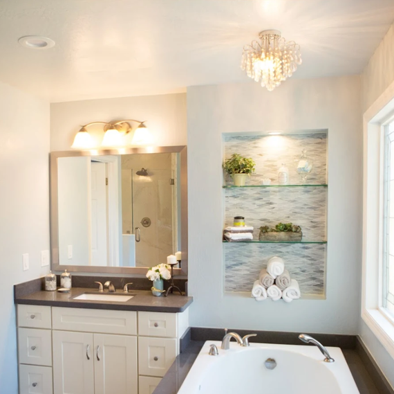 . This Dated Bathroom Gets A Much Needed Upgrade   Martha Stewart