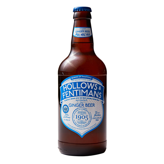 Hollows and Fentimans Alcoholic Ginger Beer
