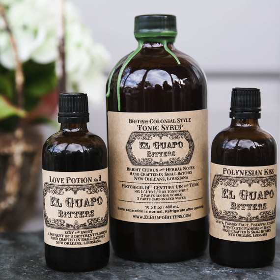 bottles of bitters
