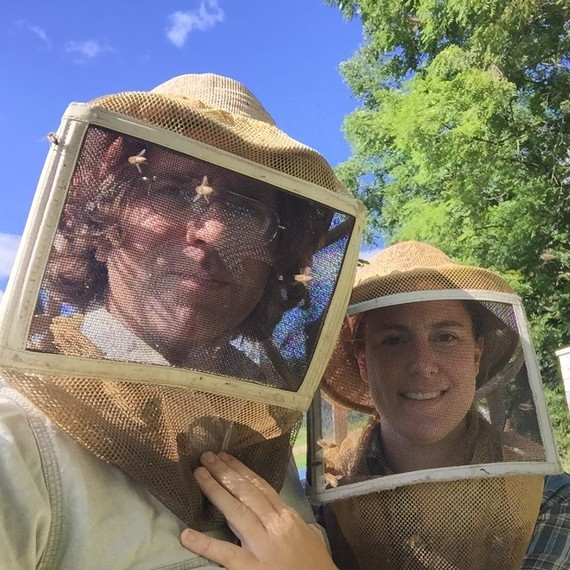 Chiara and Travis of Bolton Bees