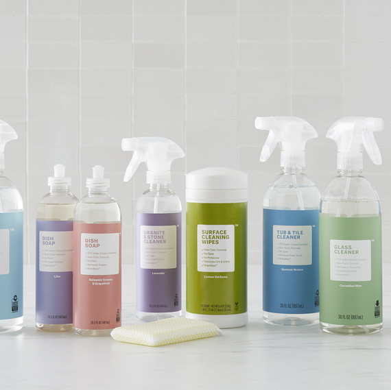 brandless cleaning line