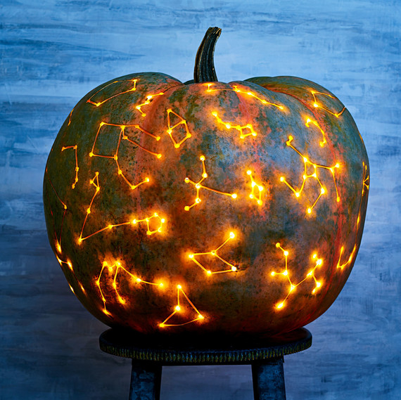 The Galaxy Pumpkin Trend That's Out of This World