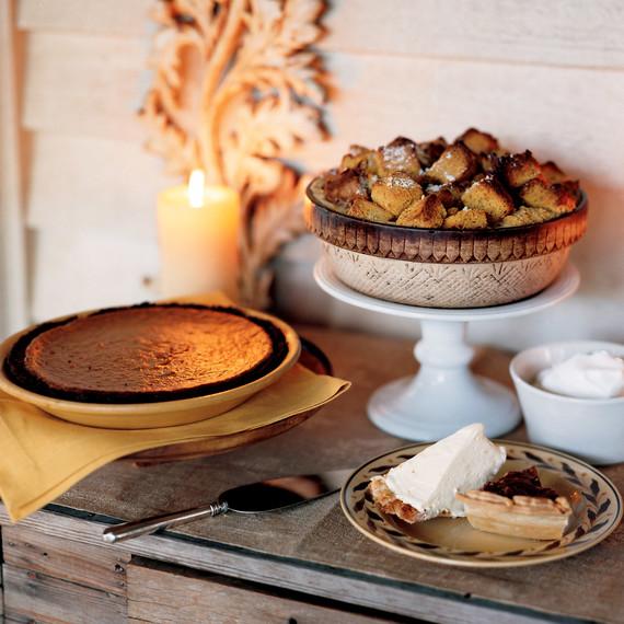 Martha's Southern Thanksgiving Menu—with BBQ Turkey!