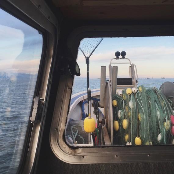 boat midnight sun drifters fish