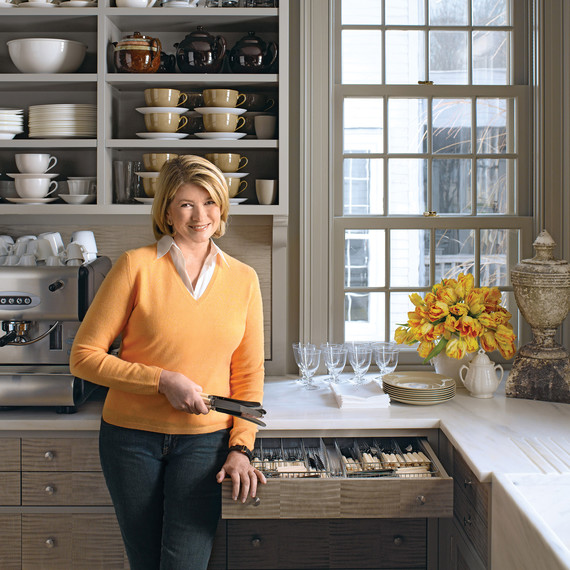 Martha\'s Meticulous Kitchen in Bedford: 5 Ideas to Steal | Martha ...