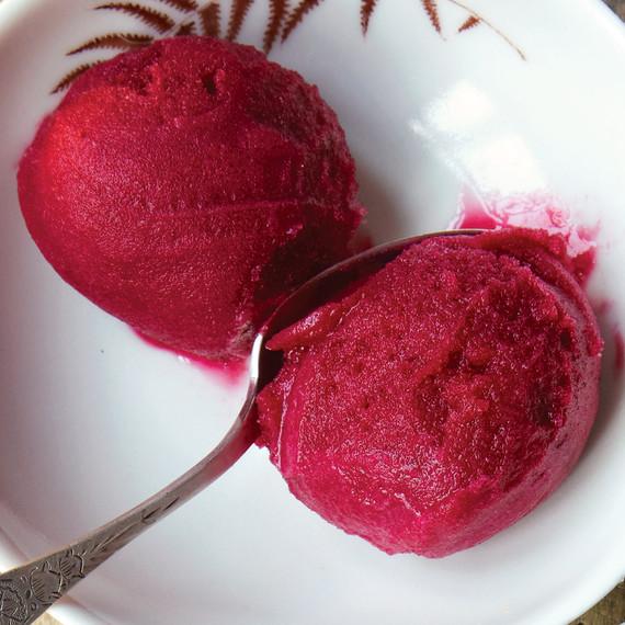 cranberry port sorbet