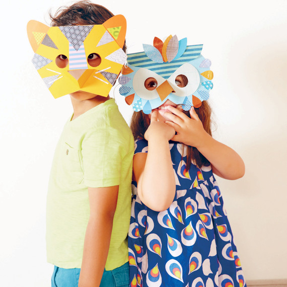 How To Make Paper Animal Masks For Kids Martha Stewart