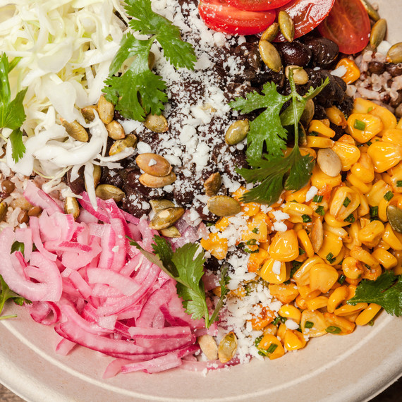 spicy mexican cali salad by everytable