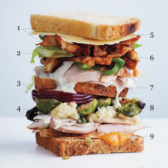 Leftover Sandwiches