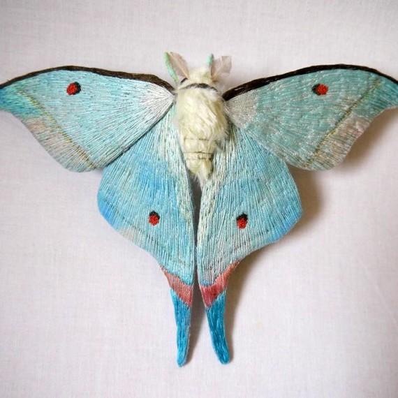 Yumi Okita textile moths
