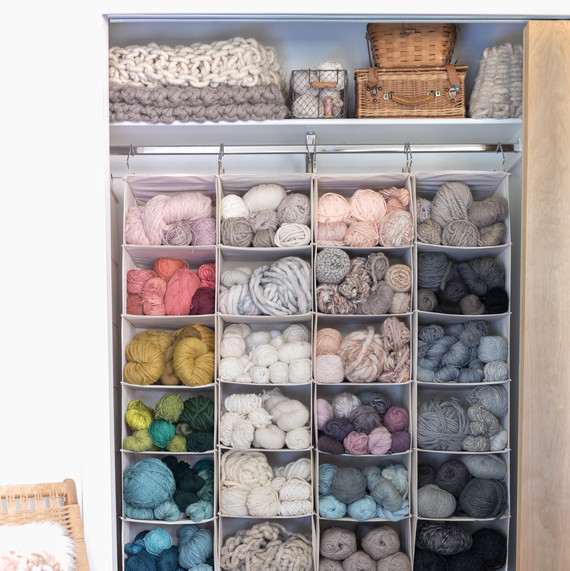 7 Clever Ideas for Organizing and Storing Yarn