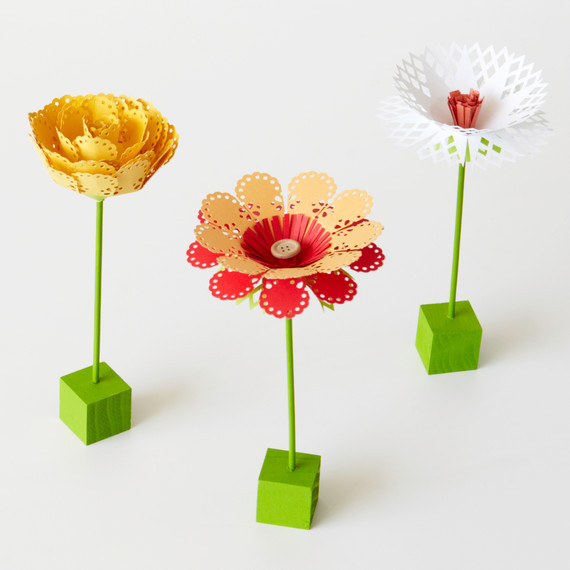 Punched-Paper Flowers