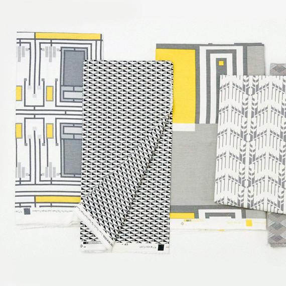 Frank Lloyd Wright fabrics from Schumacher