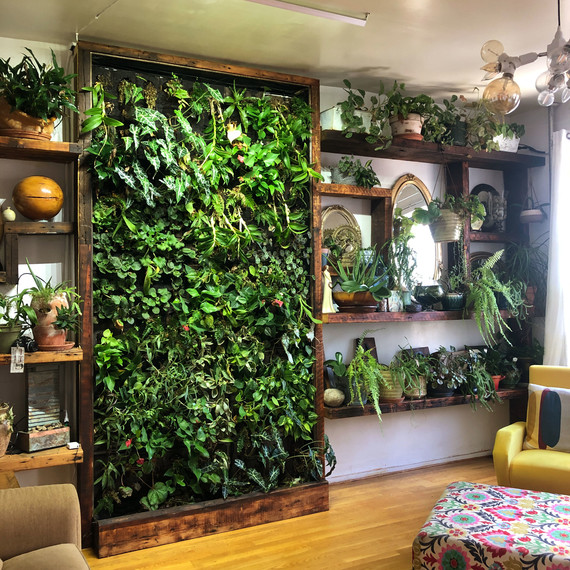 Vertical Gardens Are The Perfect Small Space Solution For
