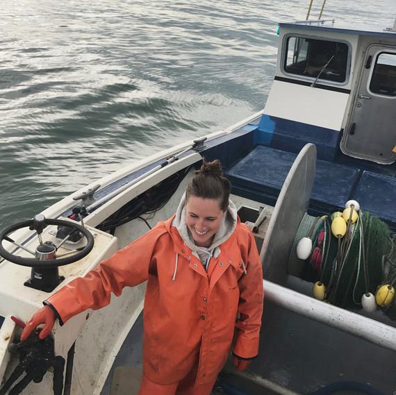setting fish net