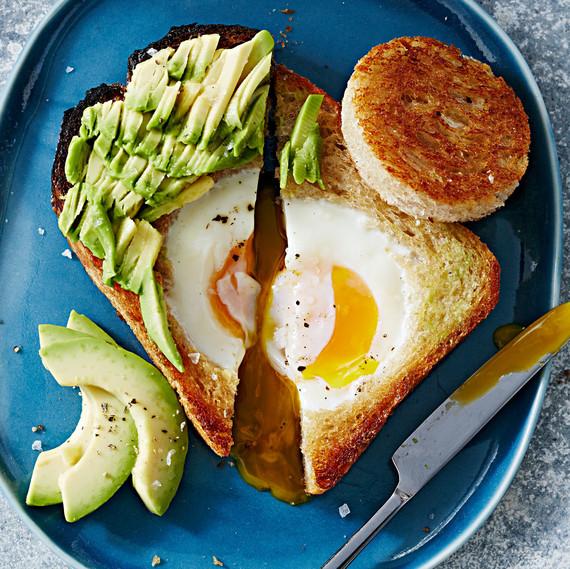 peekaboo avocado toast