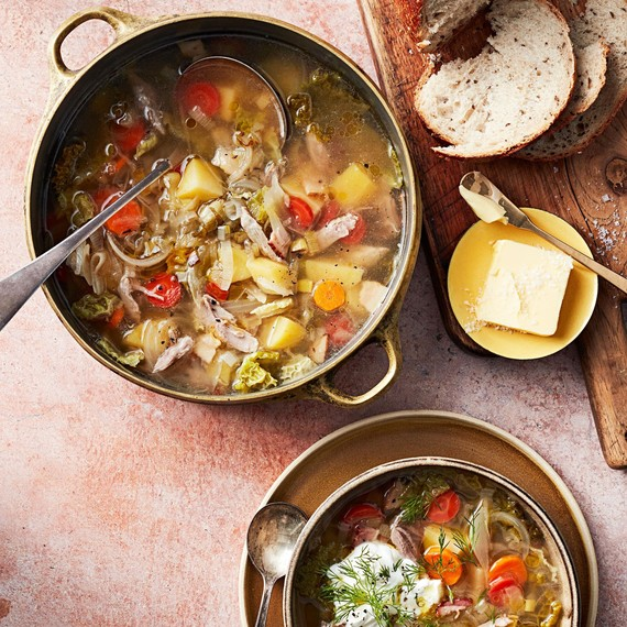 pork cabbage soup