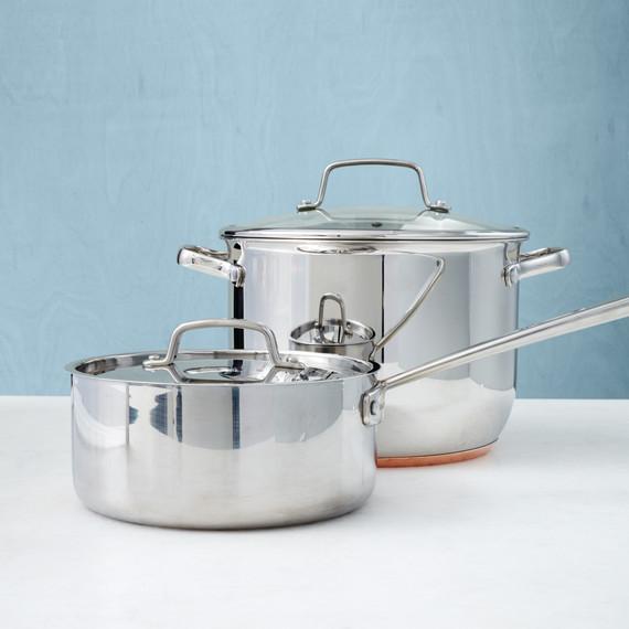 One-Pot Stars: Stockpots and Saucepans