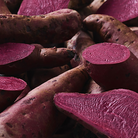 There's a Brand New Sweet Potato Variety—And It's a Stunning Shade of Magenta