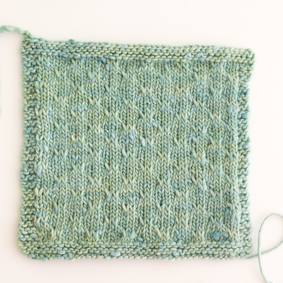 Add Subtle Texture To Your Knitting With The Trellis Double Slip