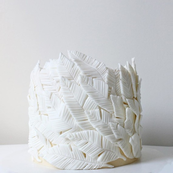 cake-white-feathers-food-art