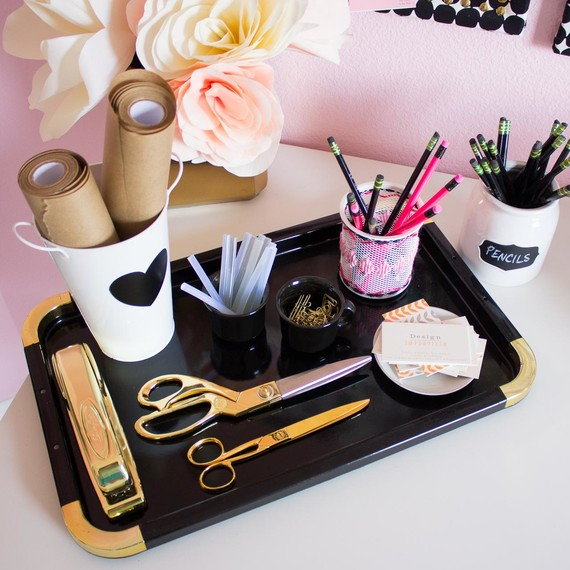 Pretty Desk Tray