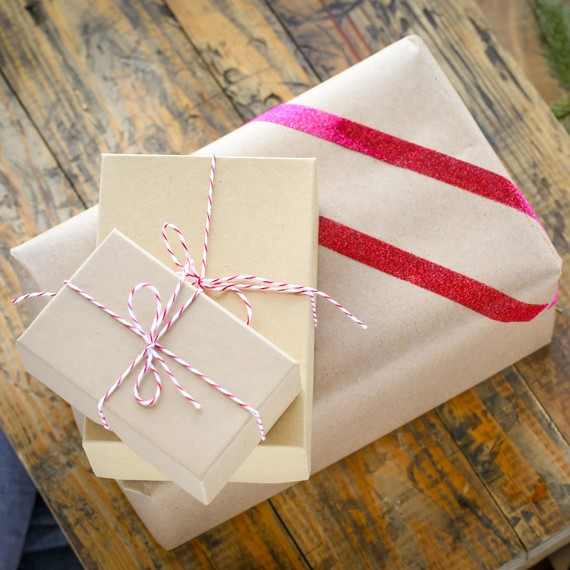 Ombre Stripe Gift Wrap
